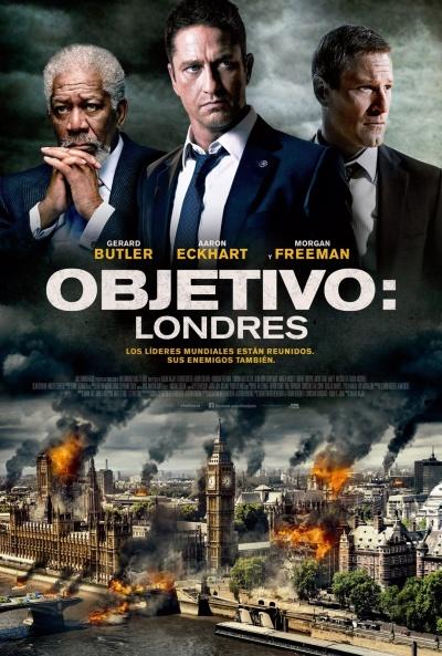 Londres Bajo Fuego [DVDRip] [Latino] [1 Link] [MEGA]